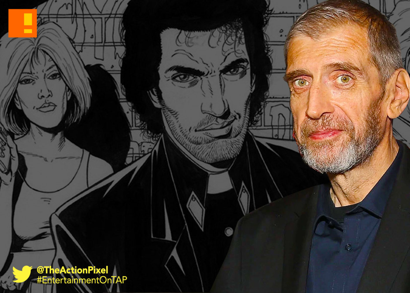 preacher, hellblazer, steve dillon, dies, passed away, entertainment on tap, the action pixel