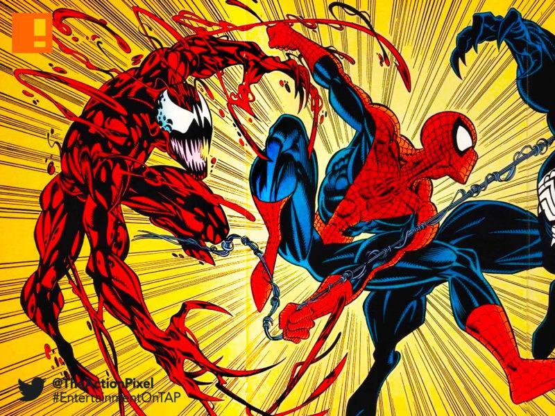 venom, sony , marvel, the action pixel, entertainment on tap, spider-man, spiderman, marvel comics
