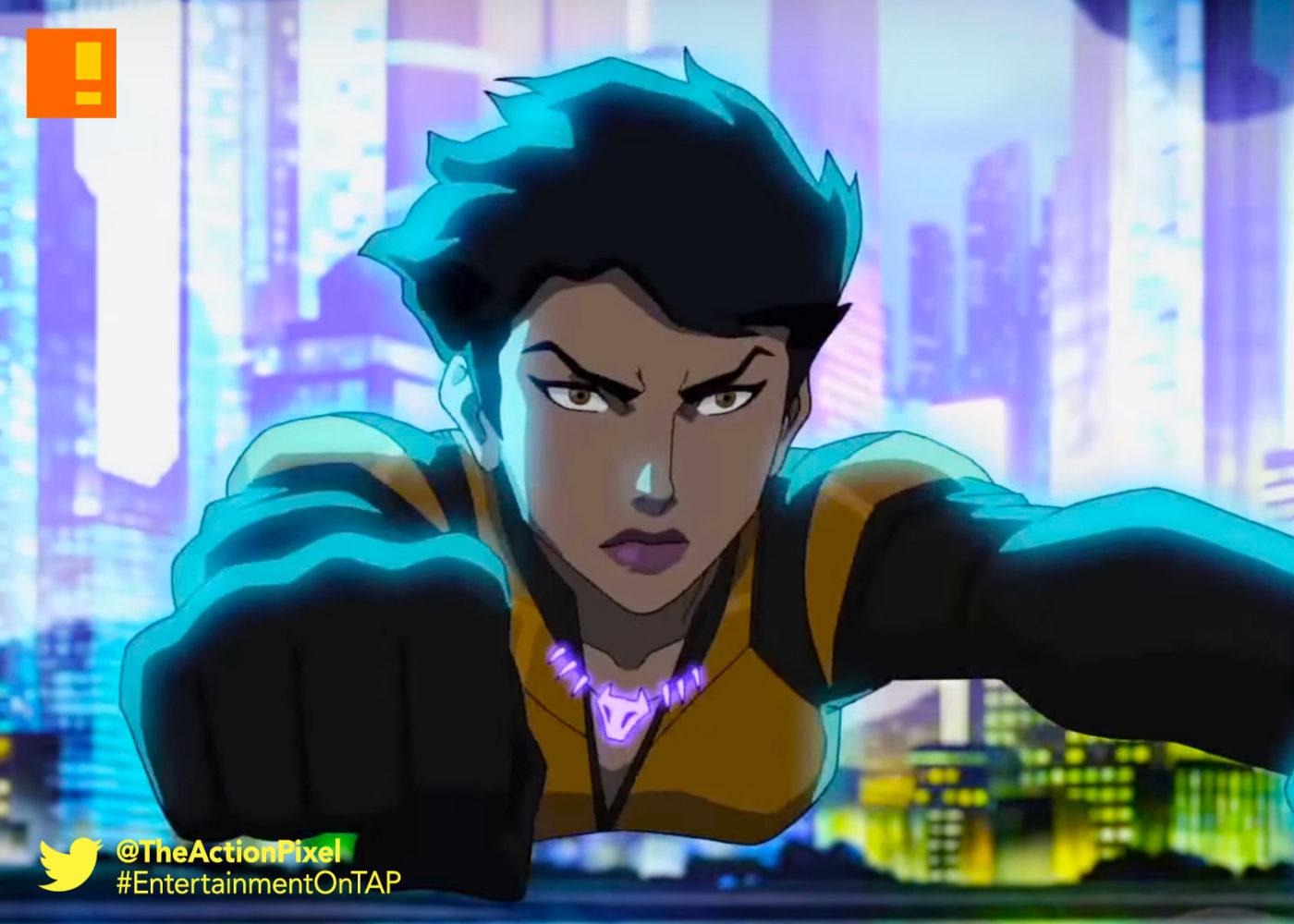 vixen, cw , cw seed, season 2, animation, dc comics, the flash, gustin, grant gustin, firestorm, season 2