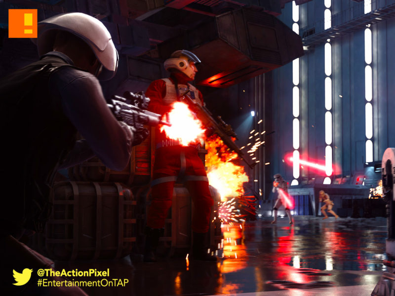 battlefrontm star wars, disney, ea dice, dice games, ultimate edition, ea, electronic arts, death star, trailer, the action pixel, entertainment on tap