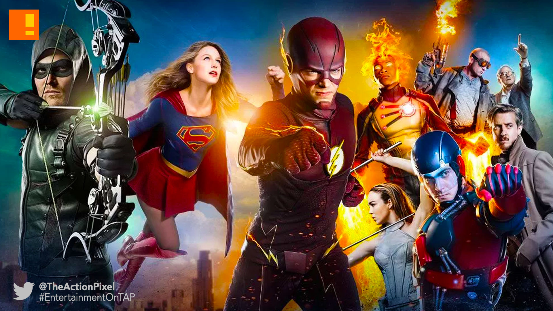 cw network, dc comics, supergirl, the flash, arrow, legends of tomorrow, entertainment on tap, the action pixel