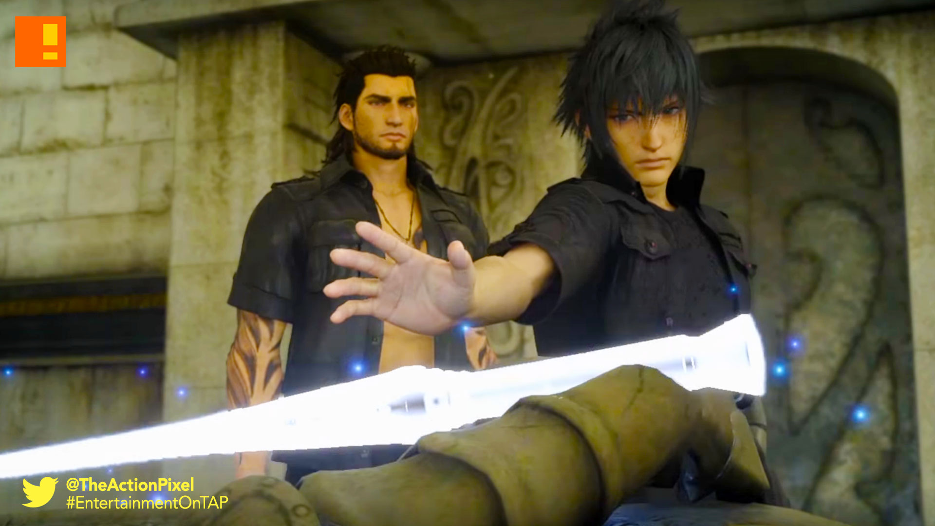 final fantasy xv, the action pixel, entertainment on tap,square enix