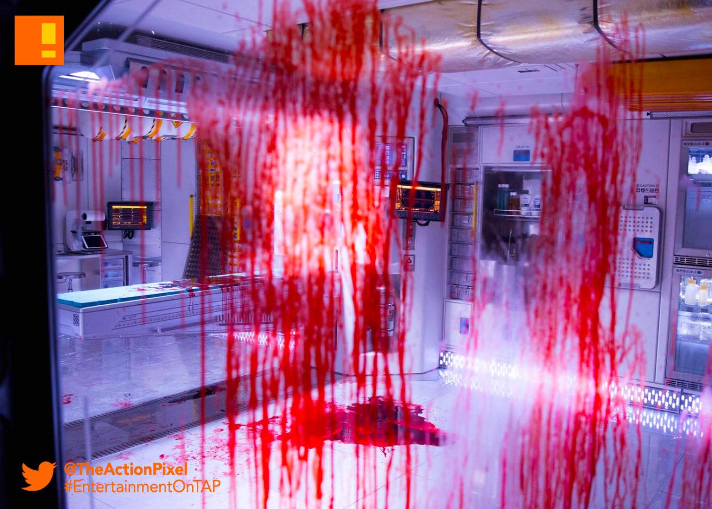 alien Covenant, blood, xenomorph, 224612072104, alien, alien: covenant, the action pixel, entertainment on tap,