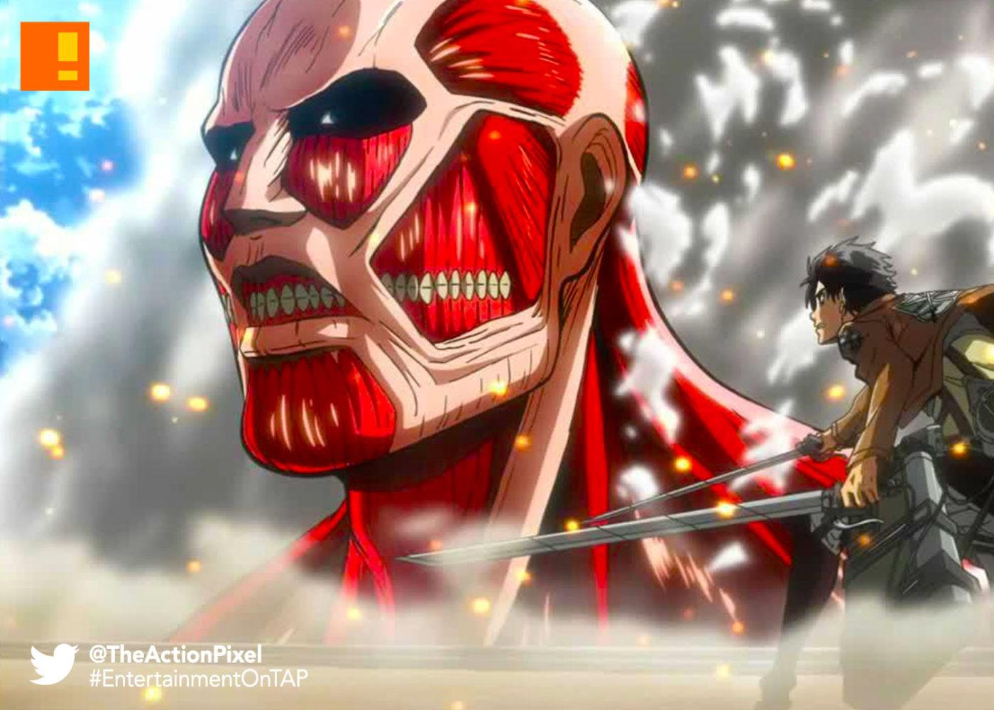 attack on titan, Masashi Koizuka, Tetsuro Araki, manga , anime, Kodansha Comics, the action pixel, entertainment on tap,