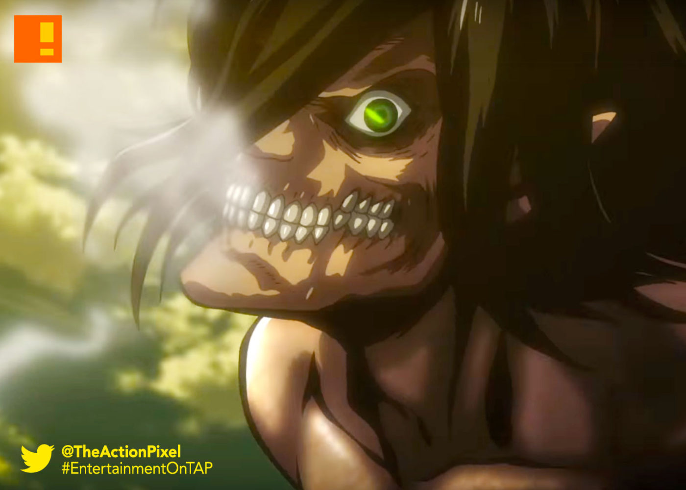 attack on titan, season 2, trailer, teaser, teaser trailer, eren, funimation, entertainment on tap, the action pixel