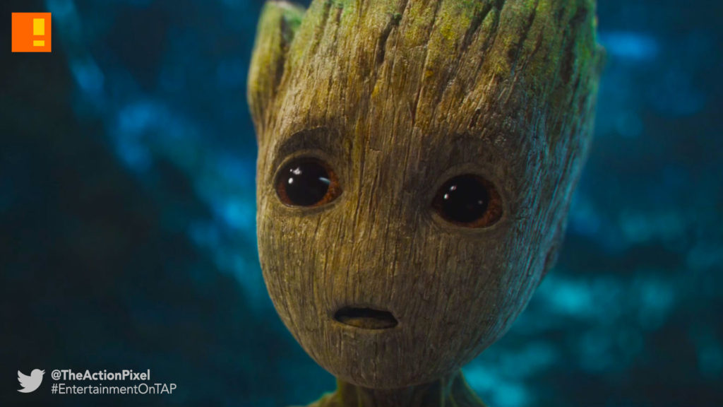 baby groot, starlord, gamora, drax, gotg, gotg vol. 2 , guardians of the galaxy, guardians of the galaxy vol. 2, entertainment on tap, marvel, marvel studios , marvel comics, teaser trailer, entertainment on tap, the action pixel