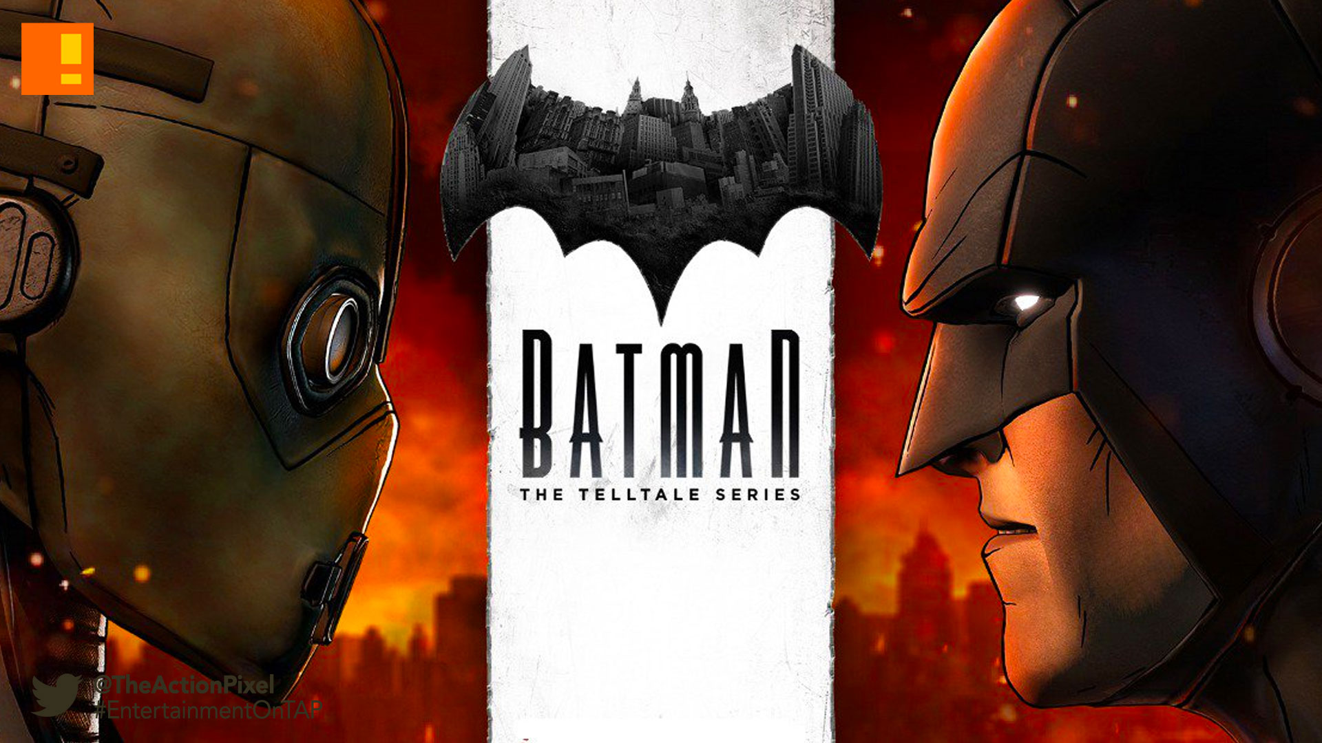 batman, dc comics, the telltale series, telltale games, the action pixel, city of light, entertainment on tap, gotham, free