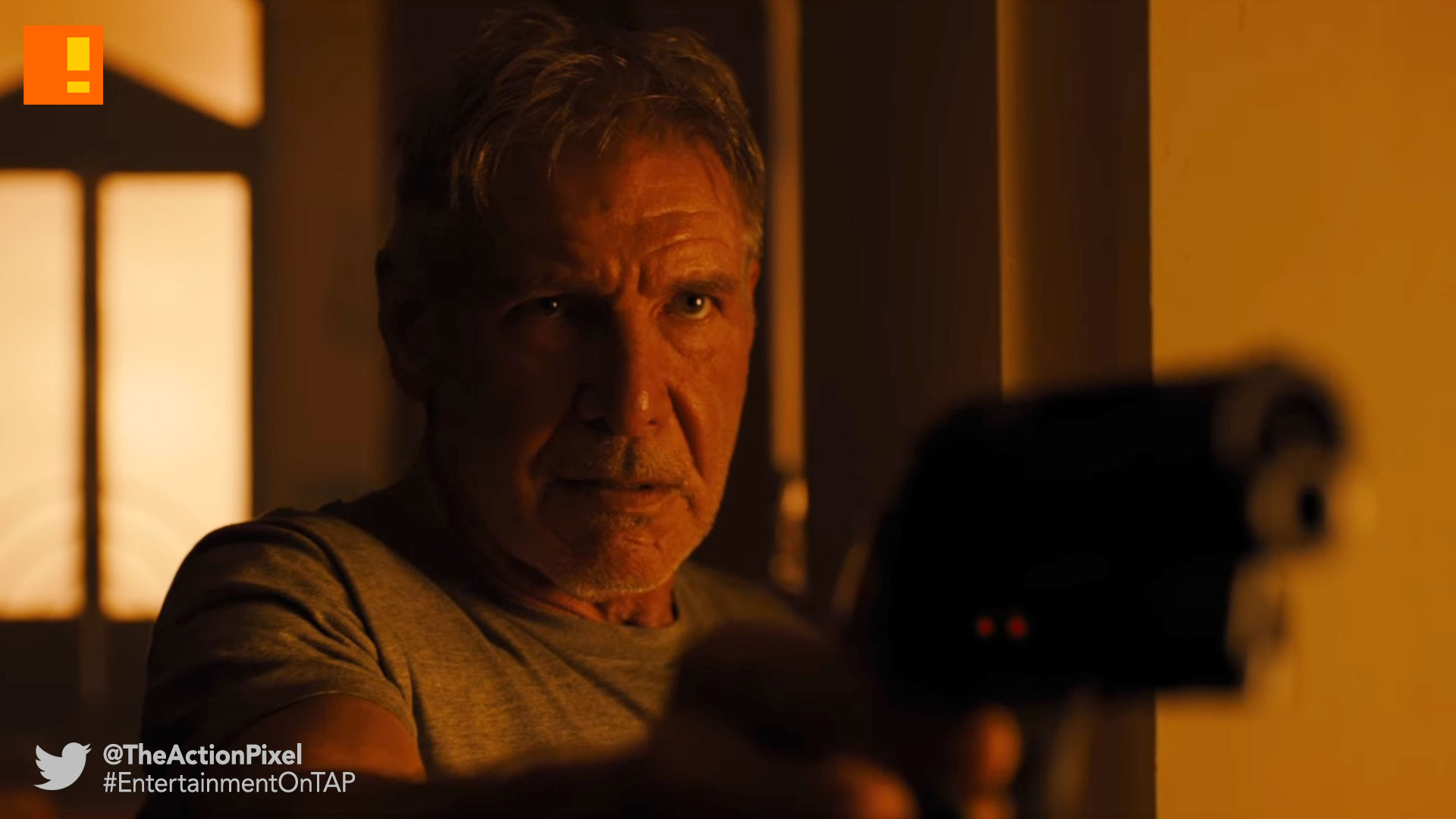 blade runner 2049, ryan gosling, harrison ford, trailer, sony, columbia, icon, warner bros. entertainment , the action pixel, entertainment on tap, rick deckard,