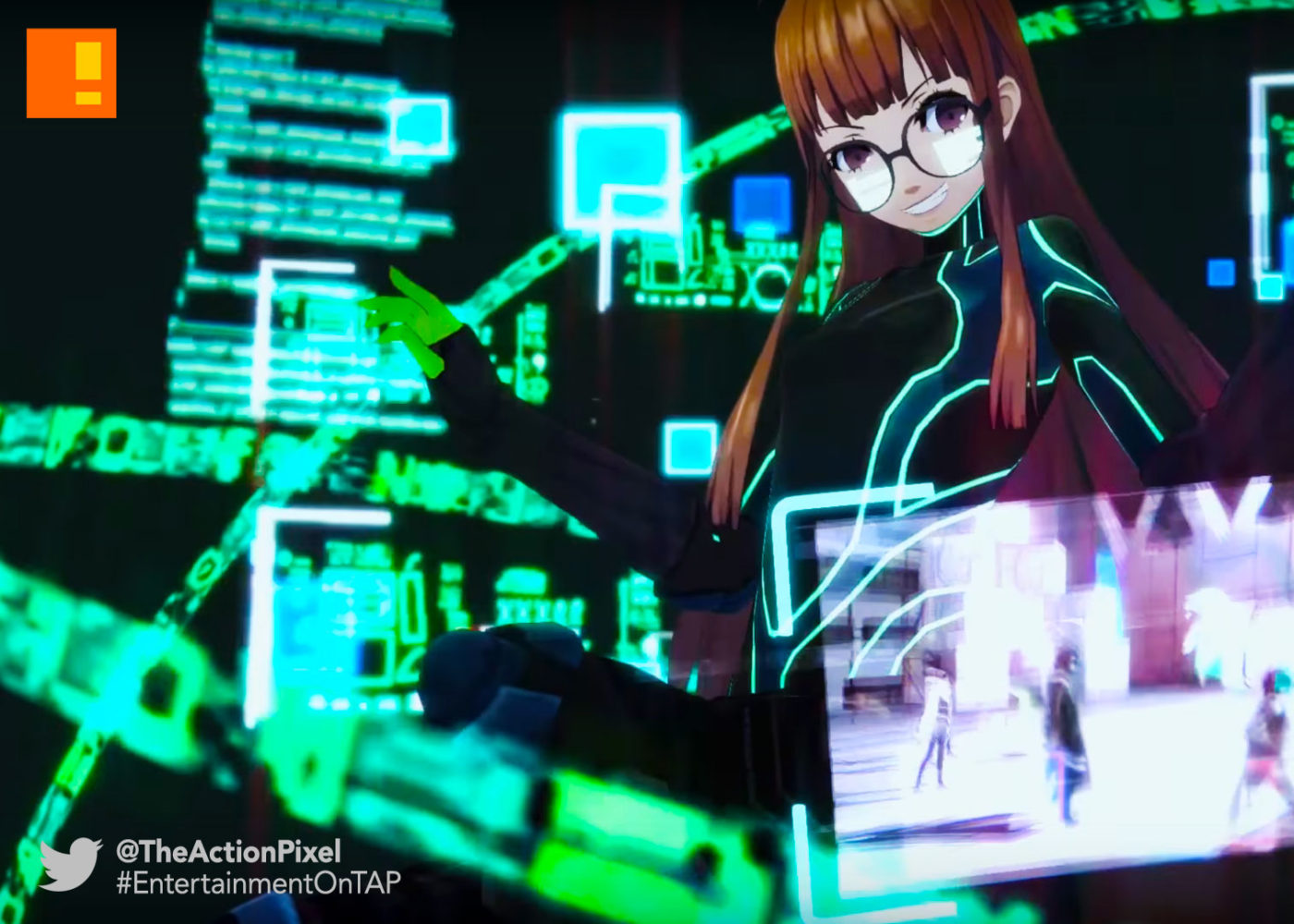 futaba, persona 5, trailer, entertainment on tap, atlus, the action pixel, @theactionpixel