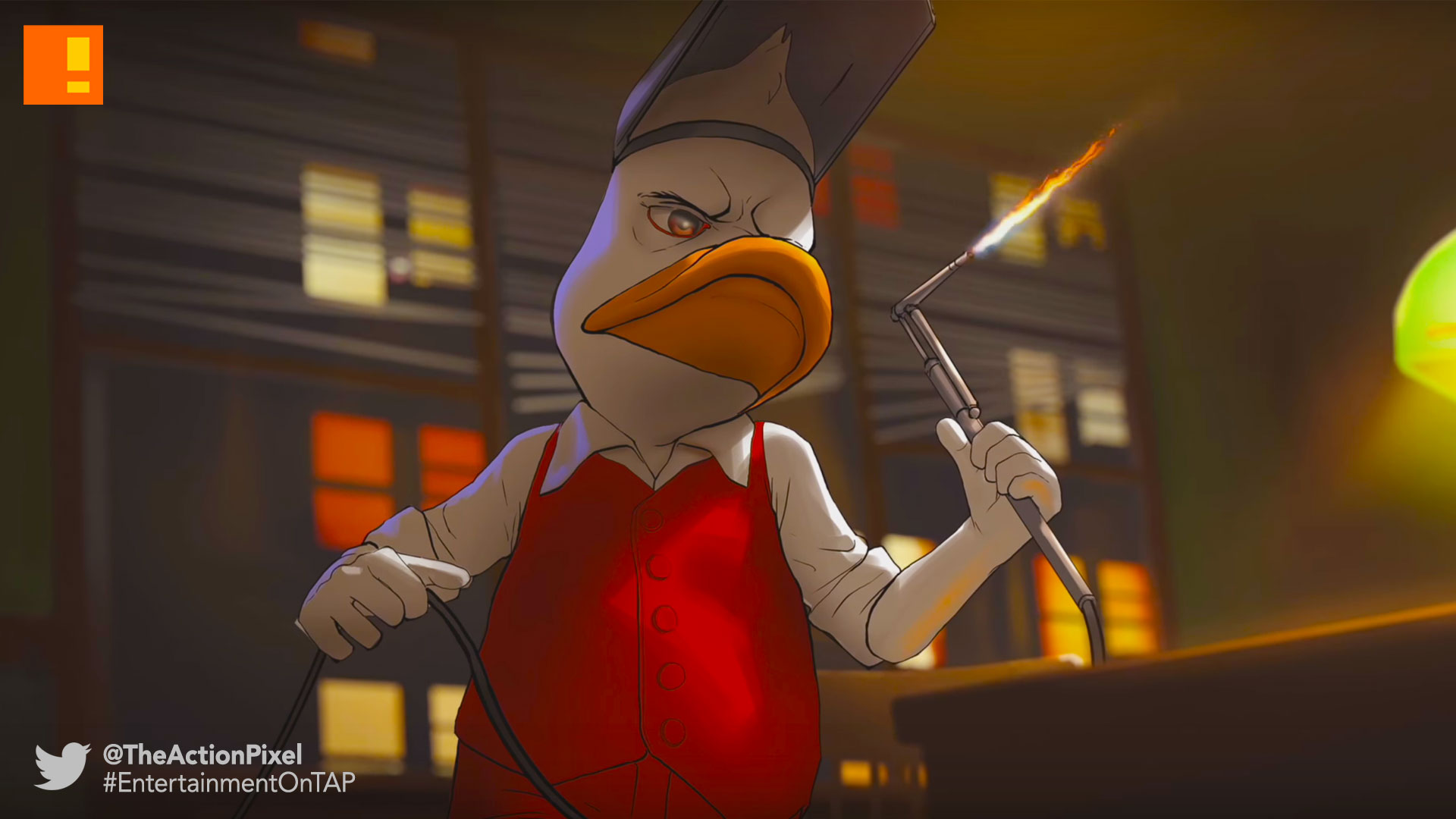 howard the duck, the action pixel, marvel, kabam, motion comic,