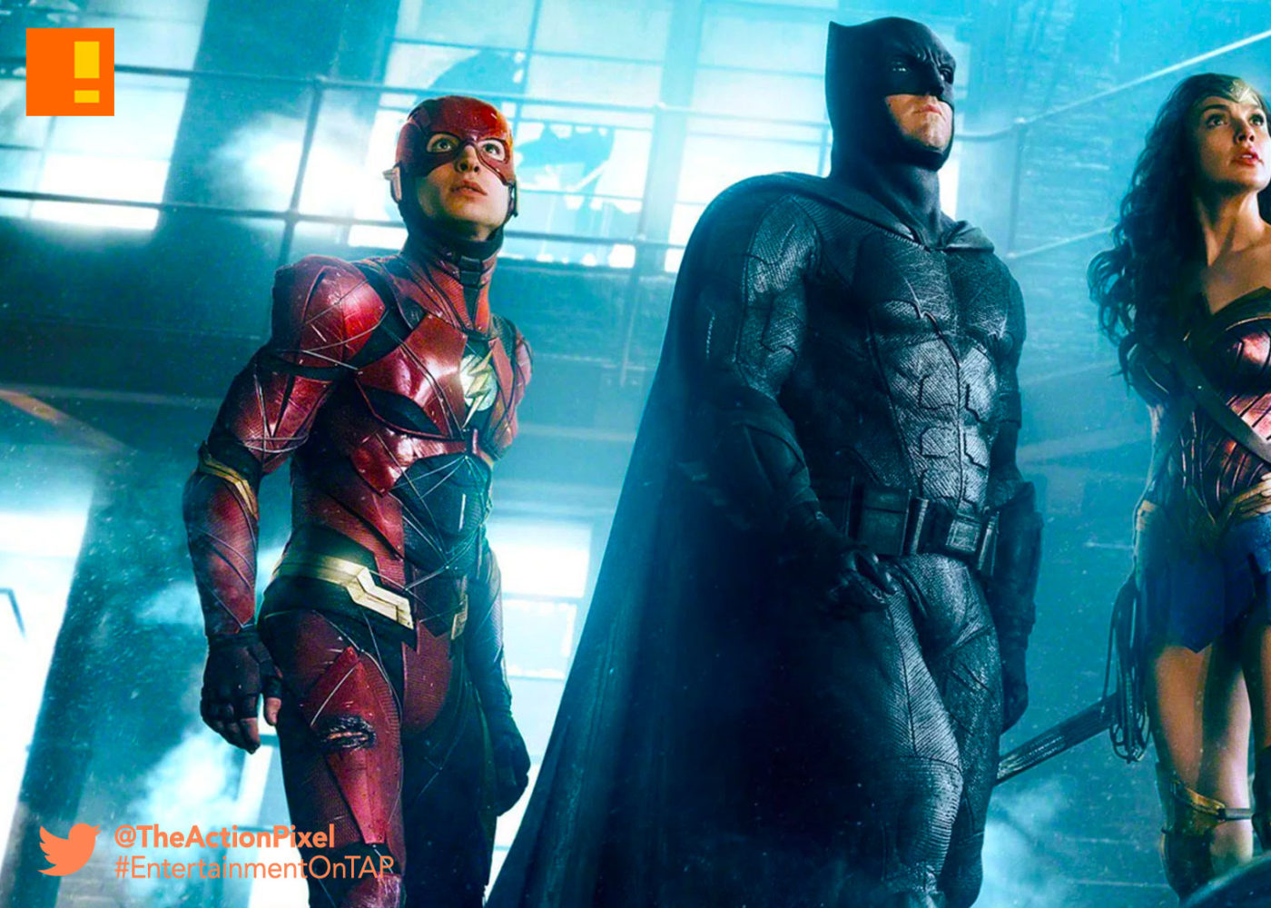 justice league, batman, wonder woman, the flash,the action pixel, entertainment on tap, warner bros. entertainment, wb pictures, dc entertainment ,