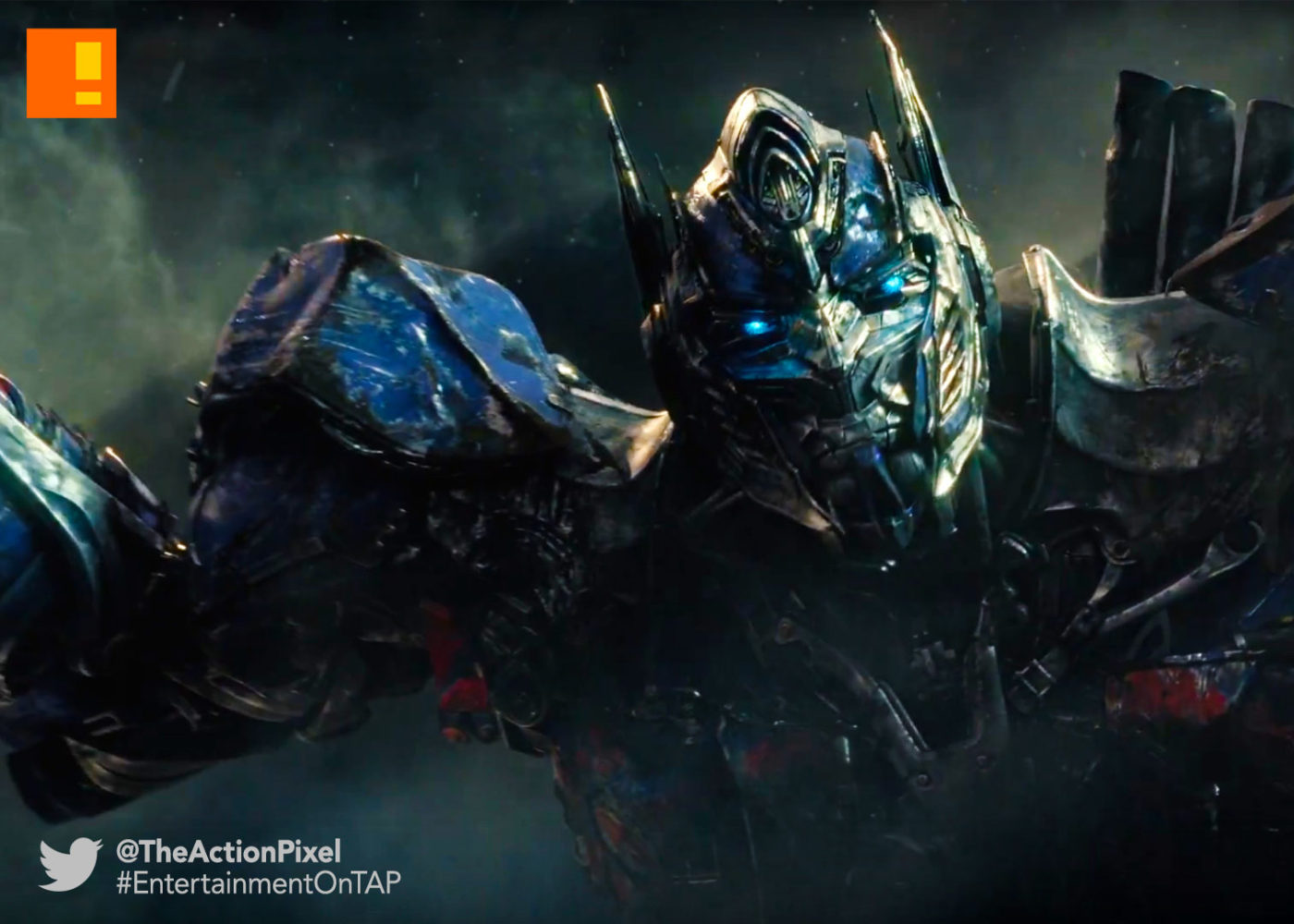 megatron, transformers, the last knight, transformers: the last knight, paramount pictures, entertainment on tap, the action pixel, omnicron, teaser, trailer, optimus prime, michael bay,