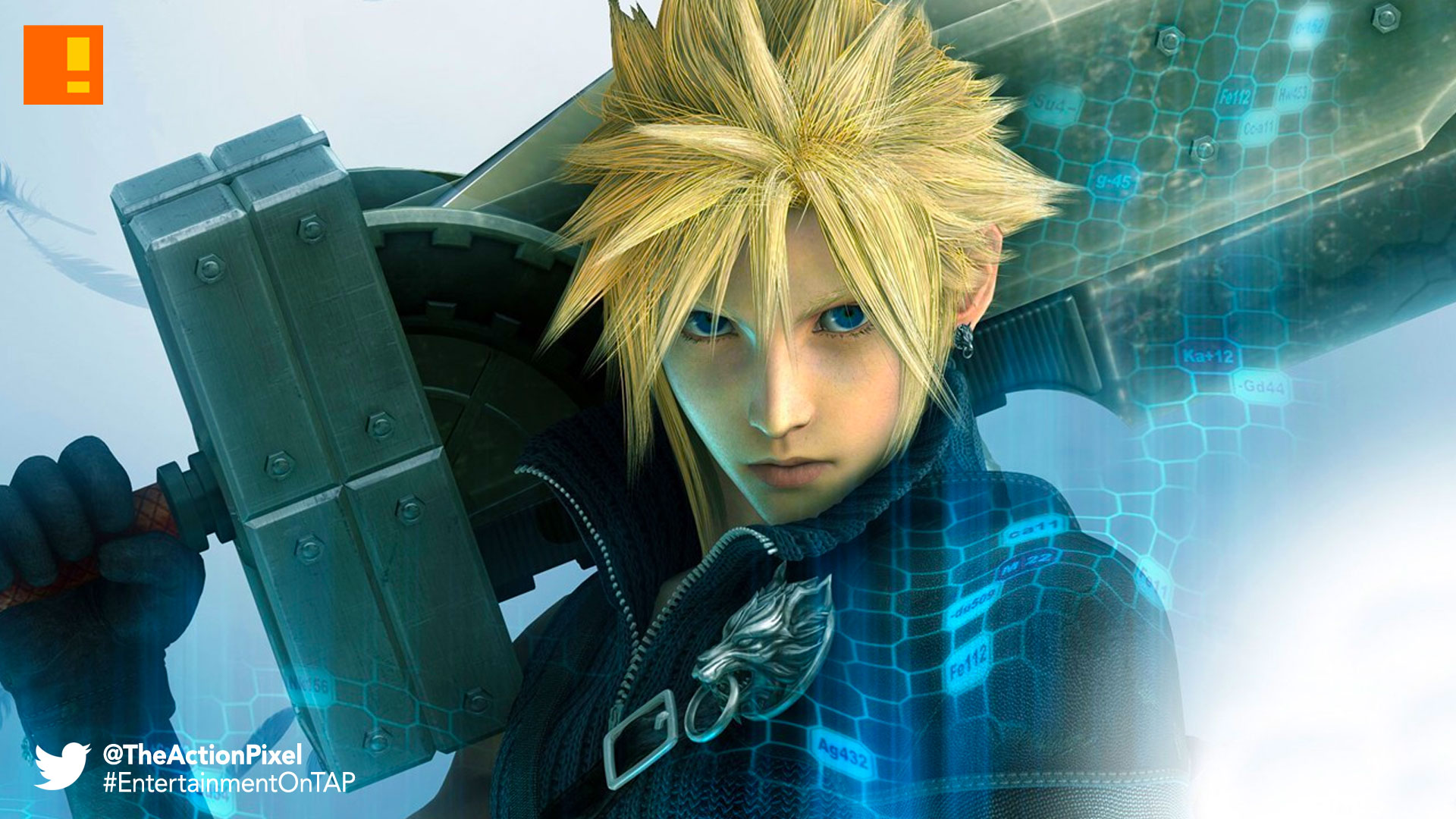 CLOUD, FINAL FANTASY 7 REMAKE, FINAL FANTASY 7, REMAKE, FINAL FANTASY, FINAL FANTASY VII, SQUARE ENIX, THE ACTION PIXEL, ENTERTAINMENT ON TAP,