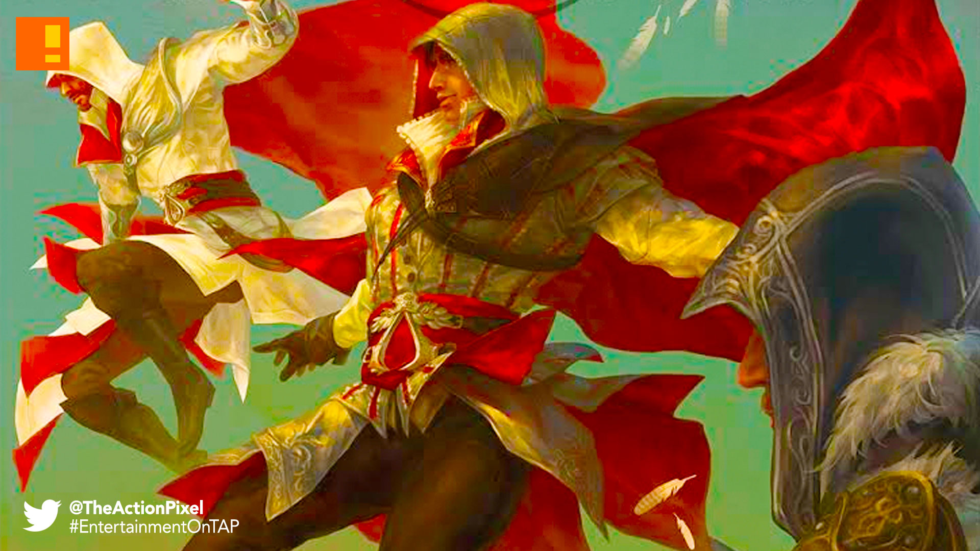 assassin's creed, assassin's creed reflections, reflections, titan comics, ubisoft, entertainment on tap, the action pixel
