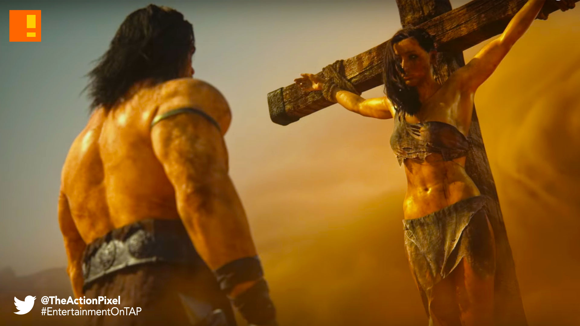 conan exiles, funcom, the action pixel, @theactionpixel, opening cinematic trailer, cinematic, trailer, conan, savage, barbarian, conan the barbarian, sandbox, open world,
