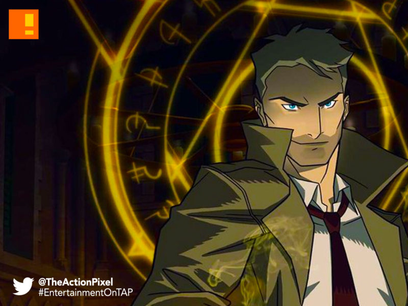 constantine, cw seed, the cw, animation , animated series, john constantine, hellblazer, the action pixel, dc comics, entertainment on tap,