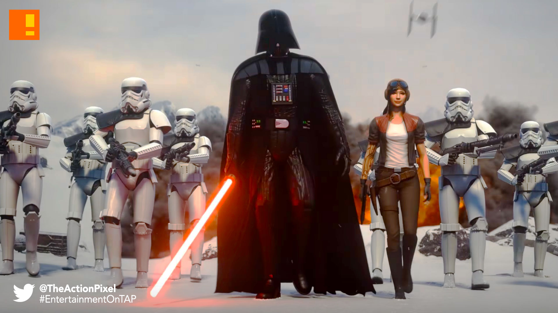 force arena, star wars, the action pixel, entertainment on tap, the action pixel, darth vader, mobile gaming ,