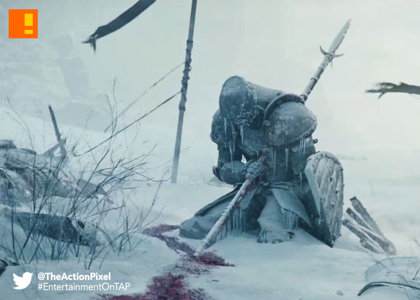for honor, ubisoft, the action pixel, thin red path, trailer, entertainment on tap, the action pixel