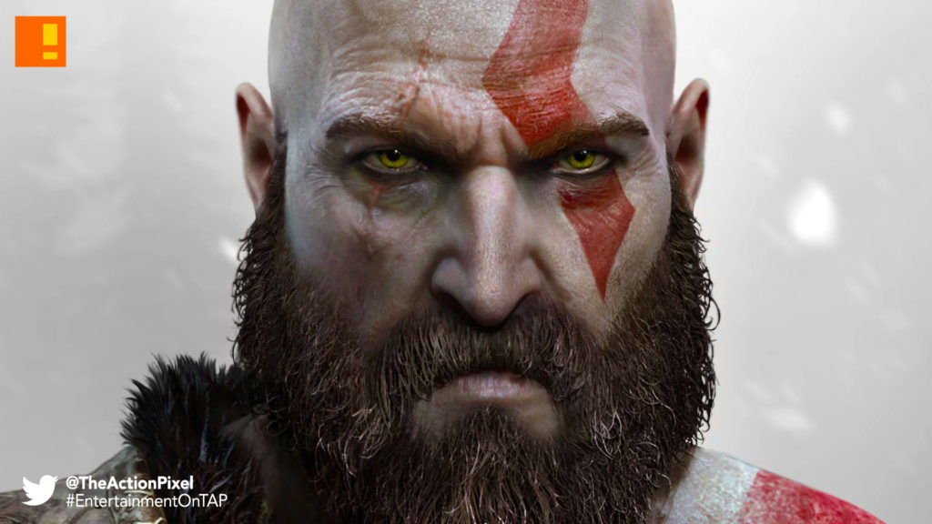 god of war, kratos, santa monica, the action pixel, norse, entertainment on tap,