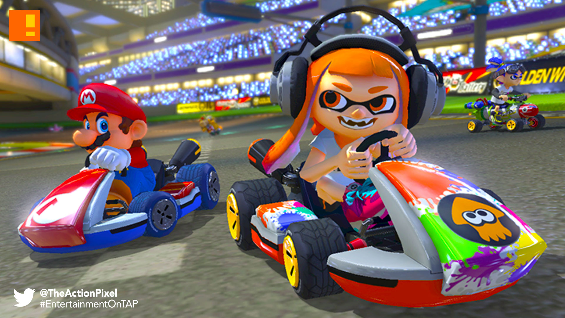 mario kart 8 deluxe, mario kart, mario kart 8, nintendo, nintendo switch, mario, the action pixel, entertainment on tap, trailer,
