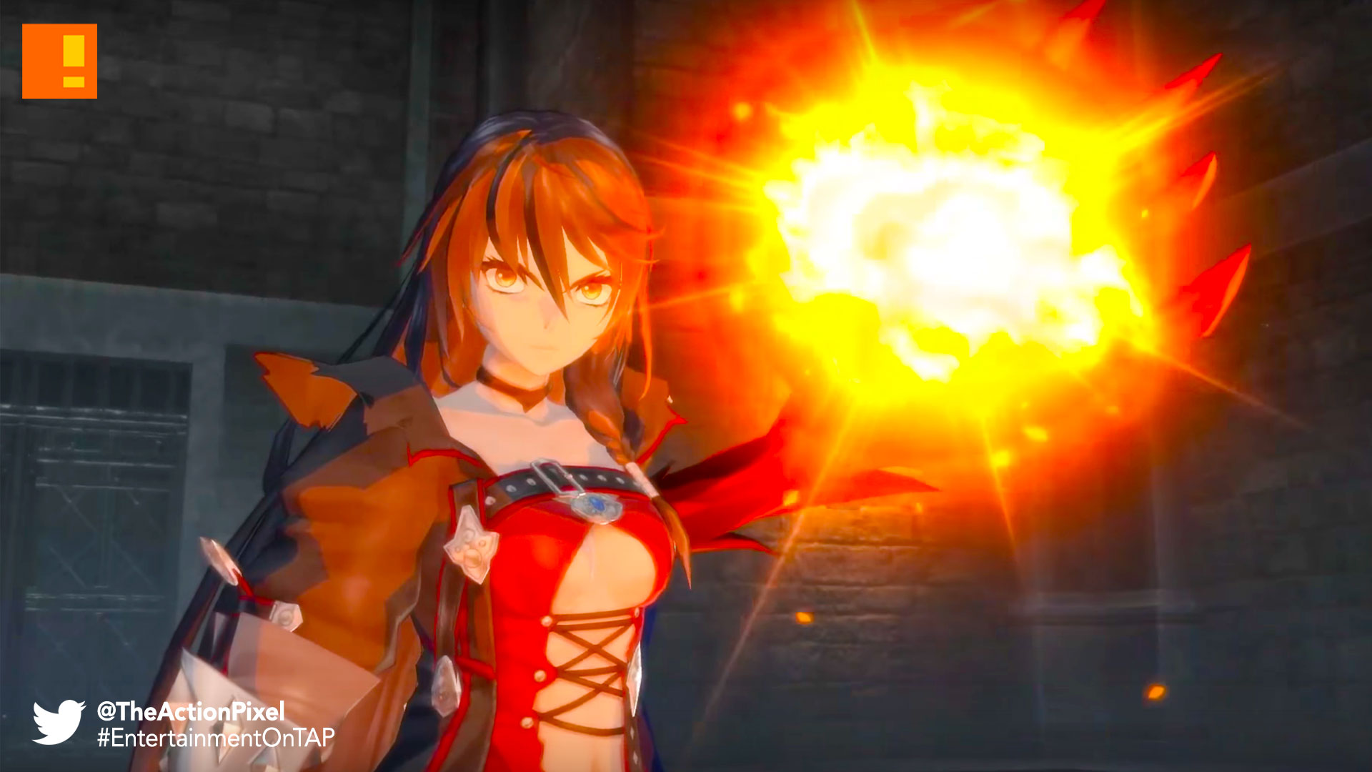 tales of berseria, bandai namco, launch trailer, velvet, the action pixel, entertainment on tap