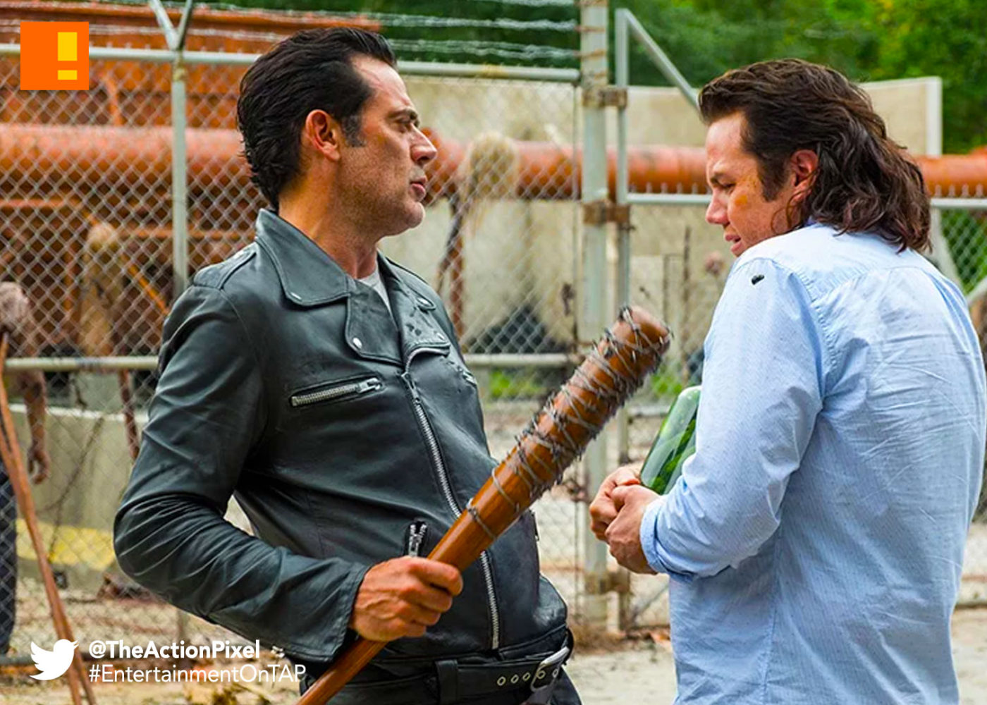 episode 711, the walking dead, negan, the action pixel, entertainment on tap