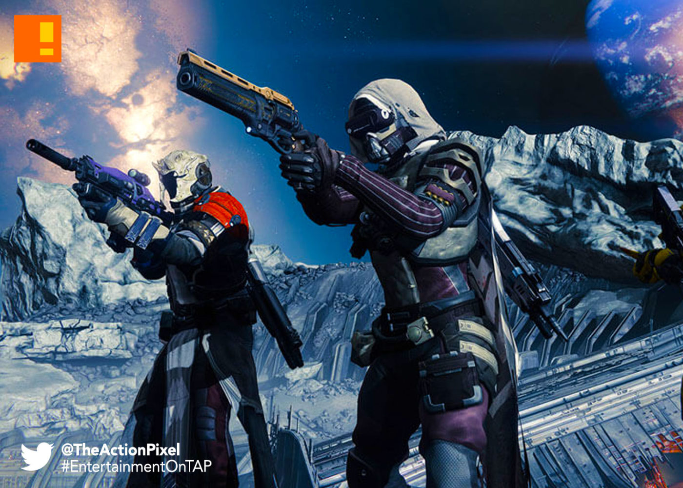 destiny, destiny 2, fps, bungie, the action pixel, entertainment on tap