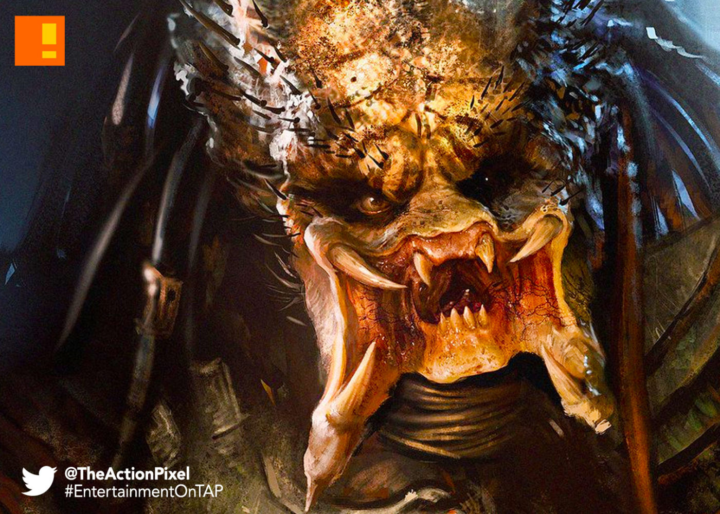 predator, the action pixel, entertainment on tap