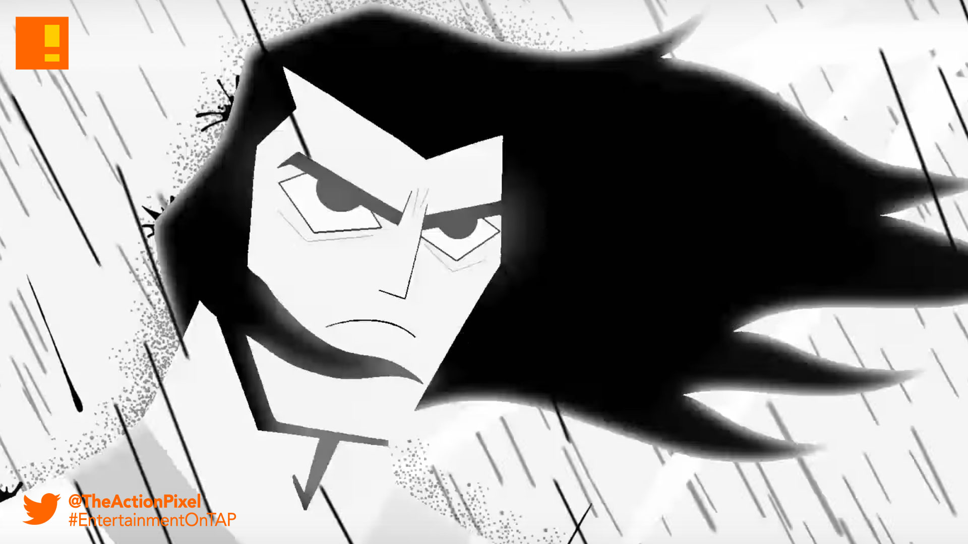 samurai jack, jack is back, cartoon network, the action pixel, adult swim,