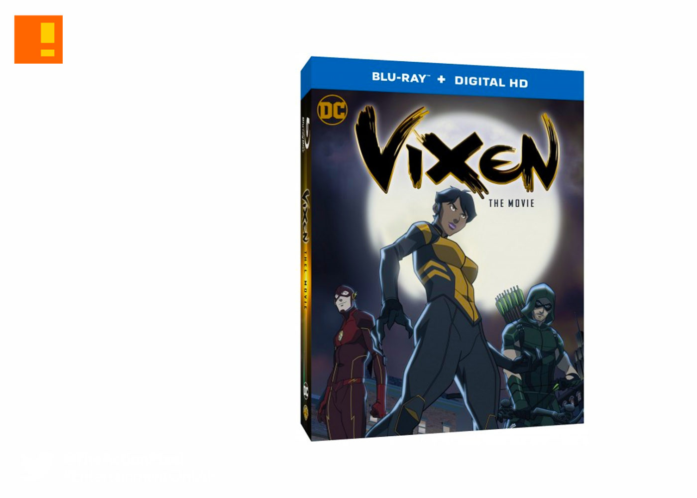 vixen: the movie, vixen, dc comics,dc entertainment, arrow, cw, cw seed, the flash, the cw network, blu-ray, entertainment on tap, the action pixel