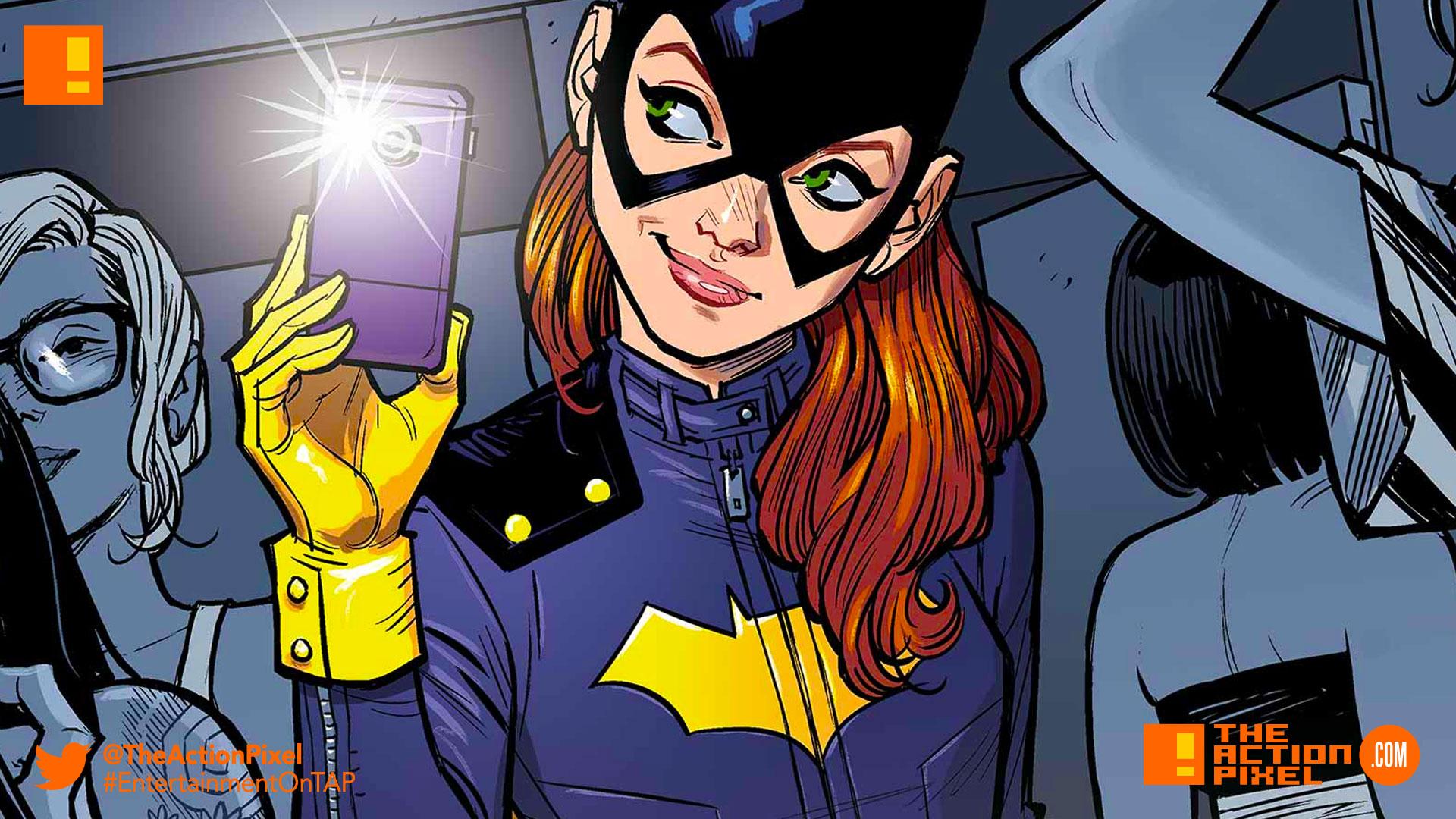 batgirl, selfie, the action pixel, entertainment on tap, dc comics,