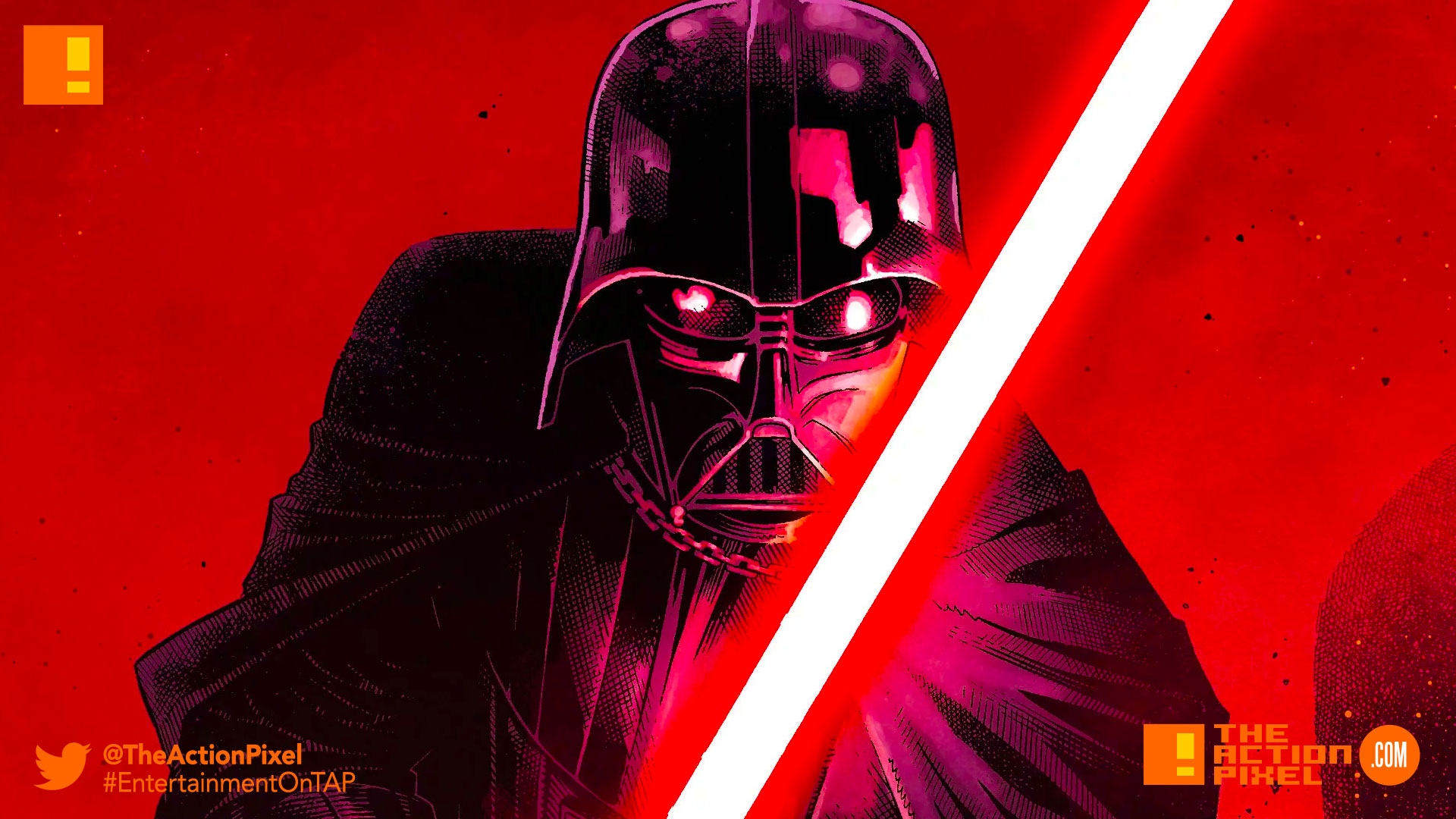 darth vader,marvel, the action pixel, entertainment on tap, star wars, lightsaber,