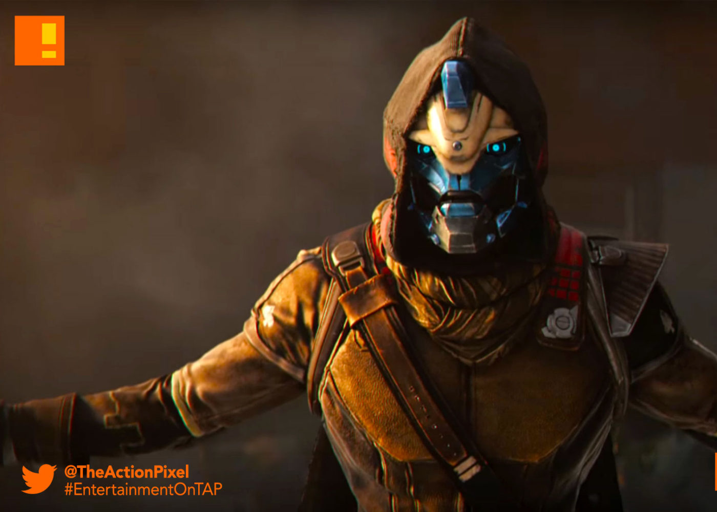gaul, cayde, cayde-6, destiny 2, teaser, destiny 2 , Leaked poster, poster, destiny, the action pixel, entertainment on tap, rally the troops, worldwide reveal trailer, trailer,