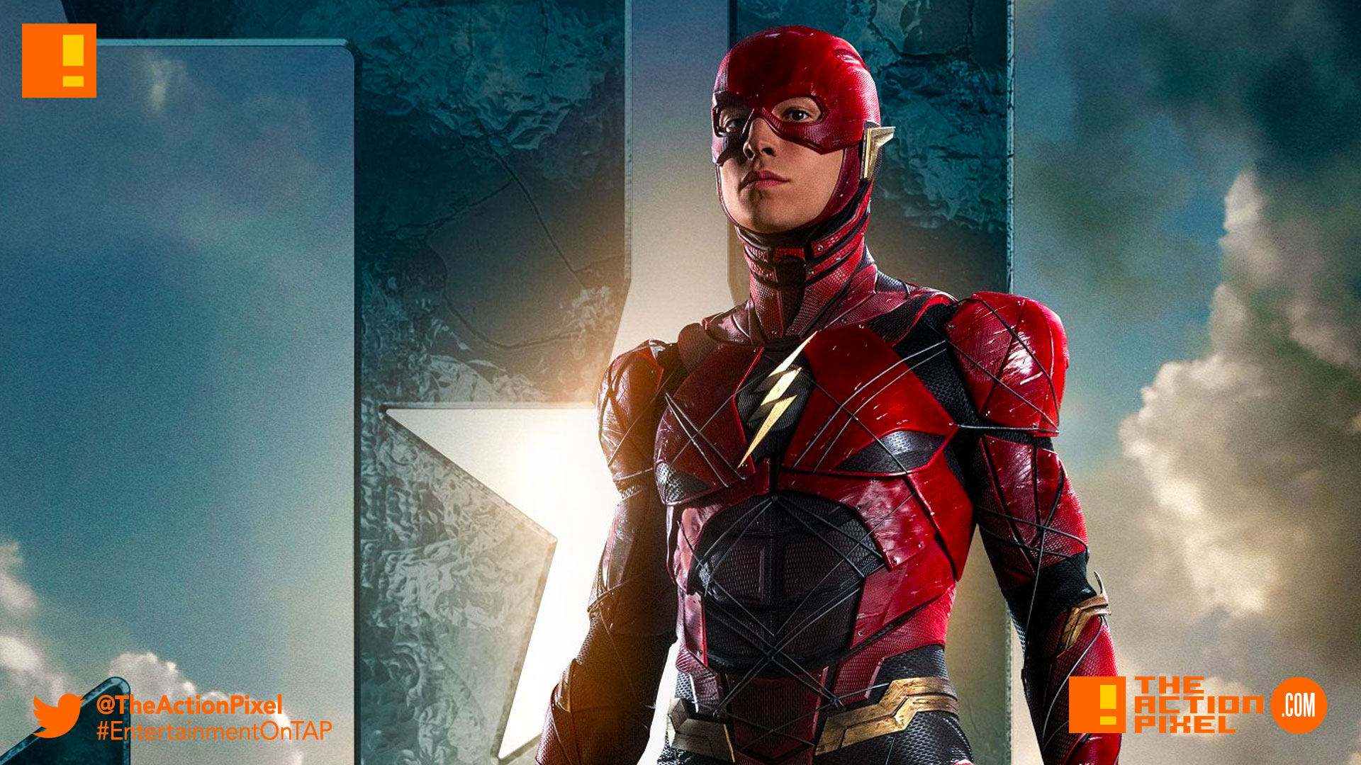 flash, justice league, dc comics, dc entertainment, jl, justice league movie, wb pictures, warner bros. entertainment, the action pixel, entertainment on tap, poster,ezra miller, barry allen, promo,teaser, trailer , character poster,