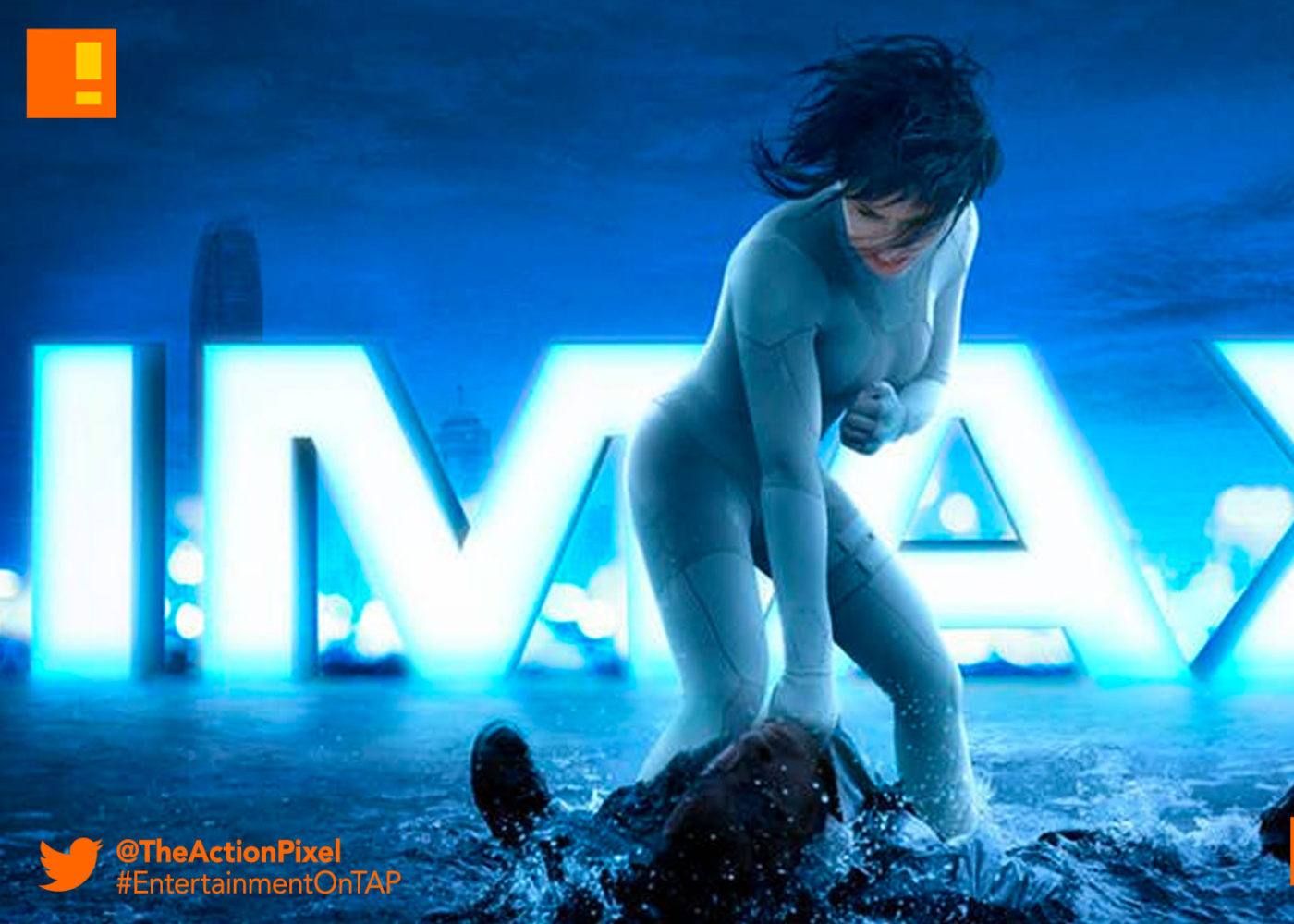 gits,trailer, major, trailer, ghost in the shell, paramount pictures, the action pixel, entertainment on tap,poster, imax