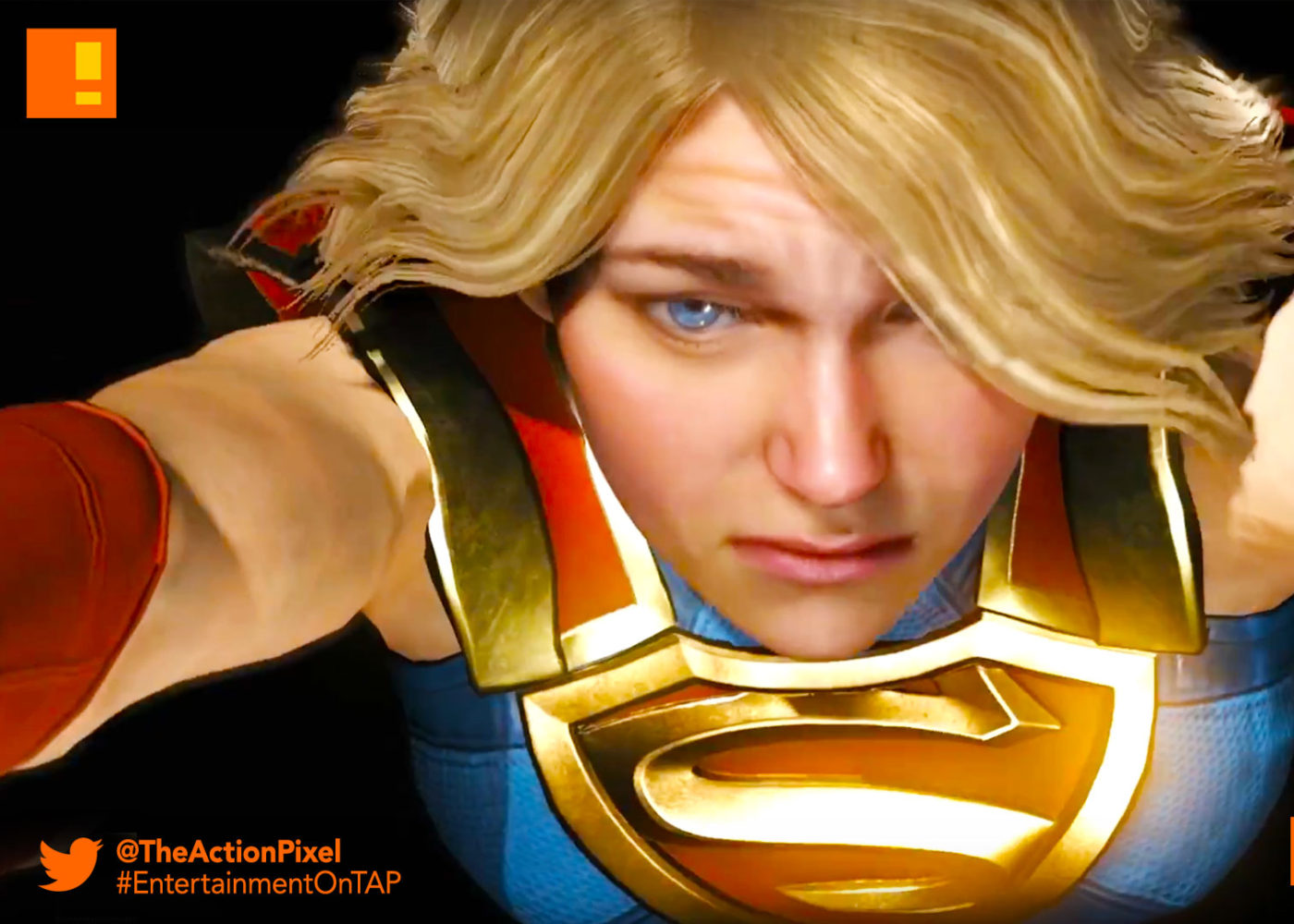 kara zor-el,kara, supergirl, superman, injustice 2, wb games, netherrealm studios, the action pixel, dc comics, warner bros. entertainment , the action pixel, superman, dc comics
