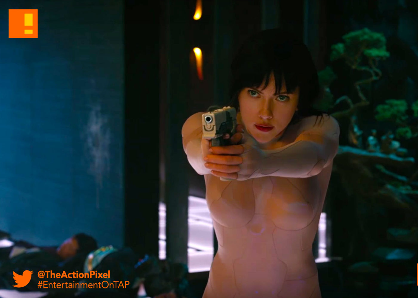 major, gits,trailer, major, trailer, ghost in the shell, paramount pictures, the action pixel, entertainment on tap