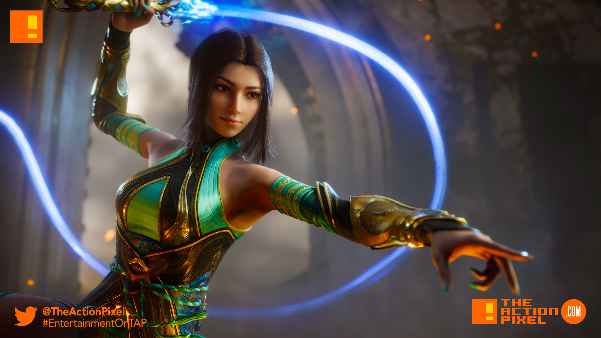 paragon, yin, moba, epic games, trailer, wind,whip, the action pixel, entertainment on tap