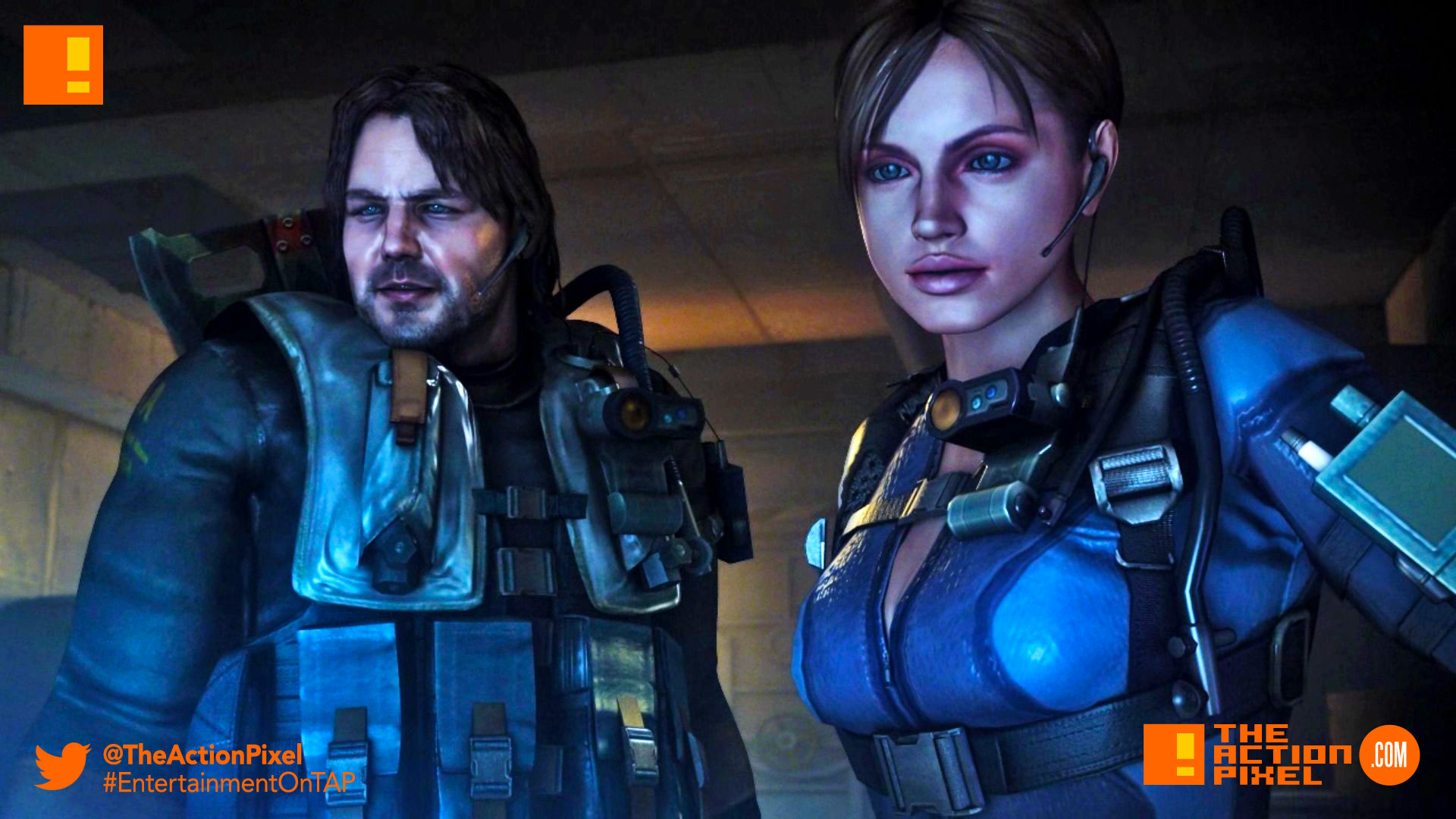 Resident Evil Revelations, resident evil: revelations, resident evil, revelations, the action pixel, entertainment on tap