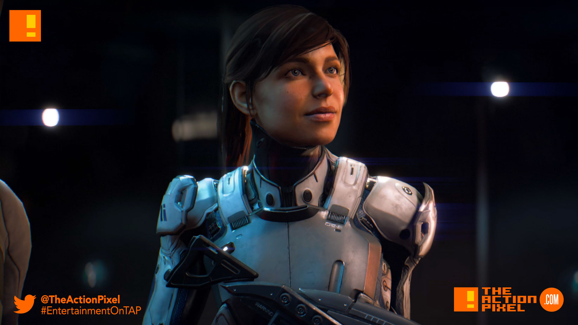 sara ryder, mass effect, mass effect: andromeda, mass effect andromeda, andromeda, bioware, the action pixel, entertainment on tap