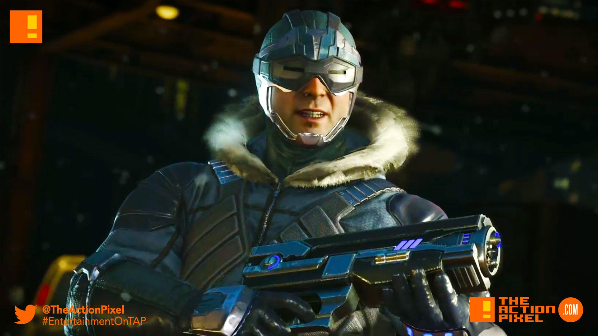 captain cold, injustice 2, the action pixel, netherrealm studios, wb games, dc comics, warner bros,