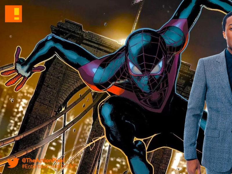 spiderman, spider-man, sony, Shameik Moore, Liev Schreiber, entertainment on tap, the action pixel
