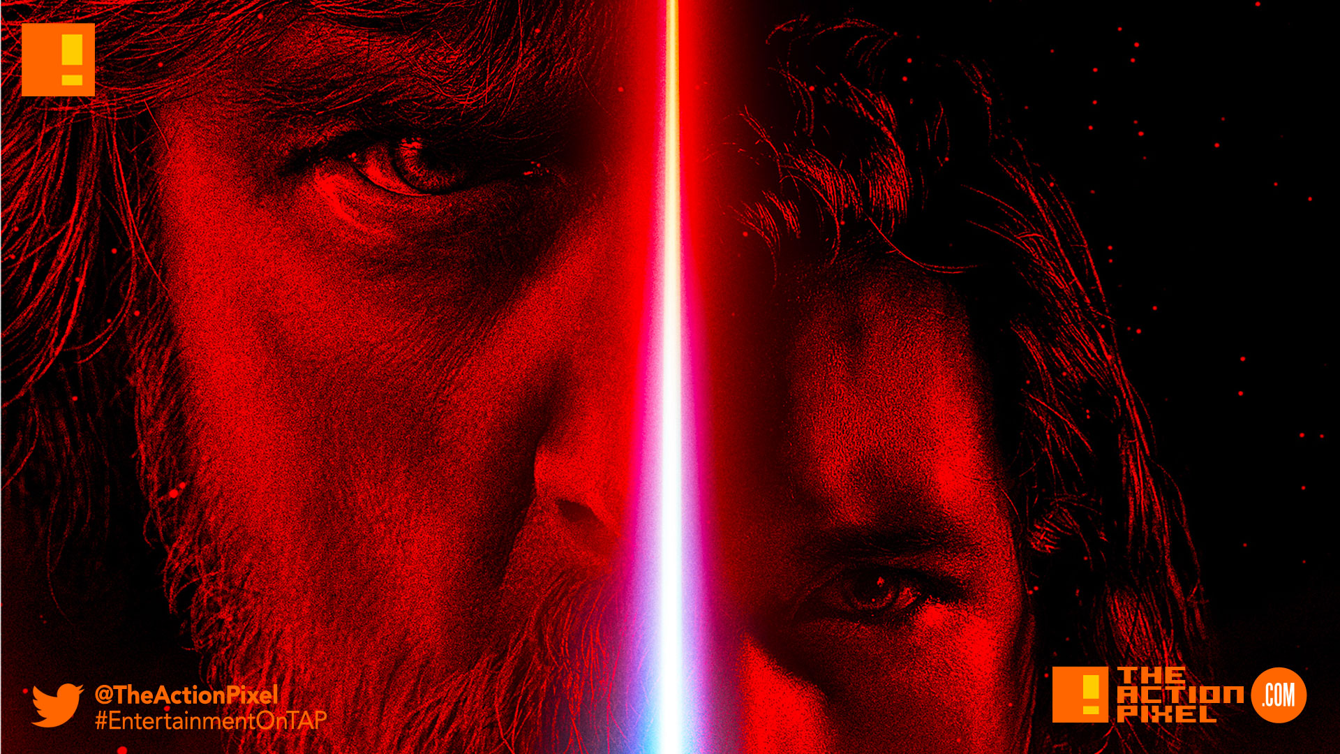 star wars, the last jedi, jedi, star wars: the last jedi, the action pixel, entertainment on tap,poster