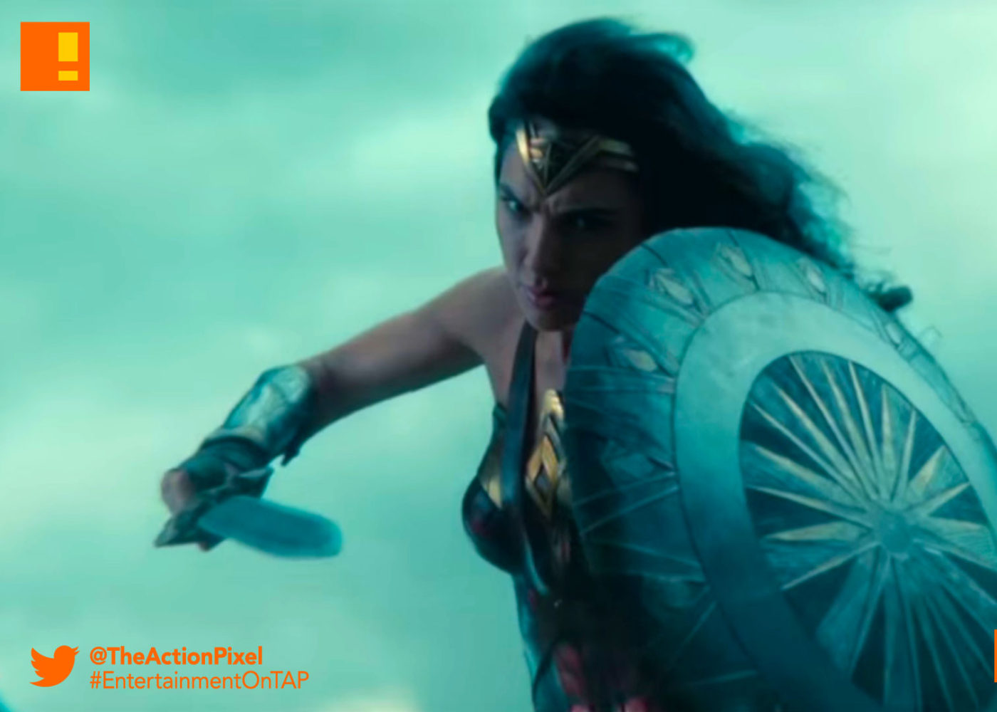 tv spot, power,commercial,ad, wonder woman,the action pixel, entertainment on tap, wb pictures, warner bros. entertainment , the action pixel, gal gadot, ww,bracelets,