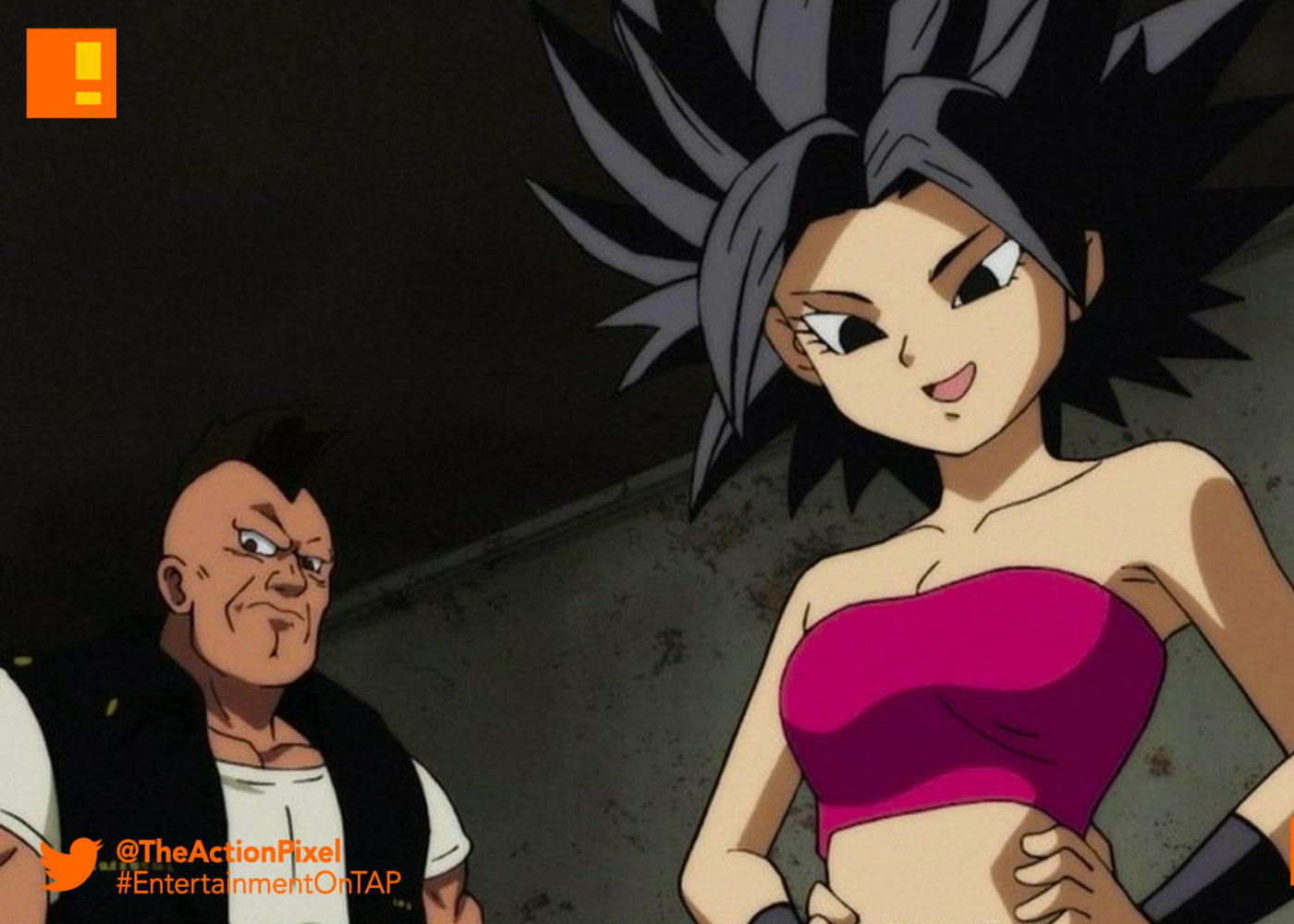dragon ball super, dbz, dragon ball z, caulifla, woman, female, saiyan,