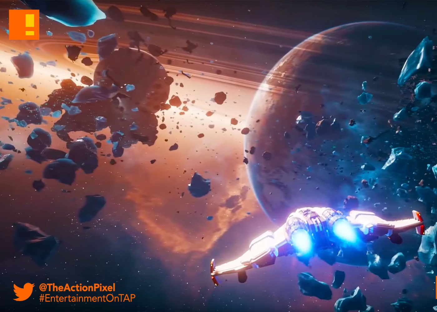 everspace, rockfish games, teaser, trailer, space shooter, the action pixel, entertainment on tap,