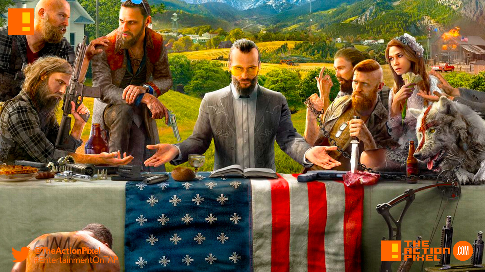 far cry, ubisoft, teaser, montana, hope country, america, teaser, teaser trailers, trailers, worldwide reveal, the action pixel,entertainment on tap,