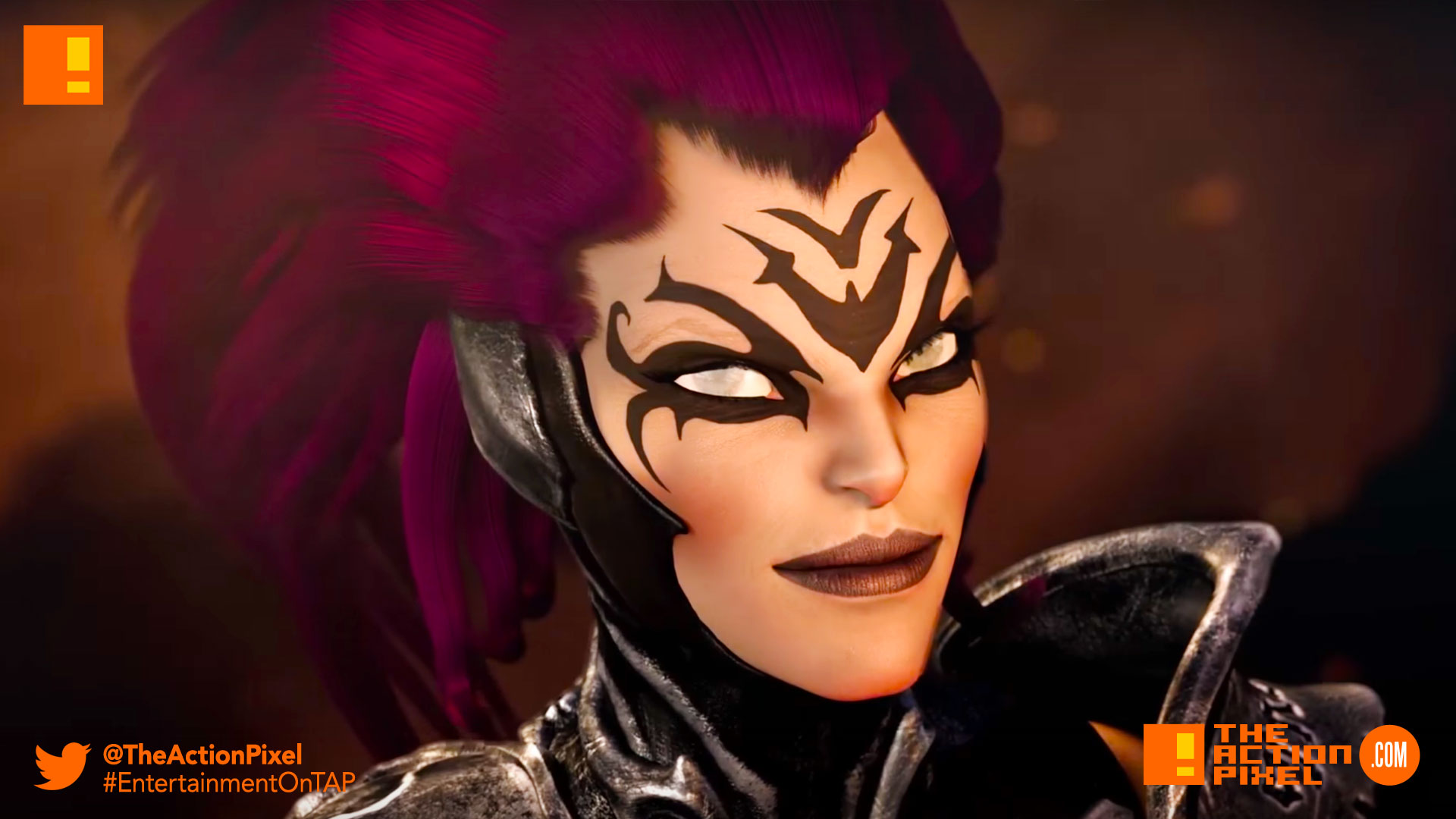 darksiders, darksiders 3, mage,fury,whip,gunfire games,nordic thq, the action pixel, entertainment on tap,reveal trailer, trailer