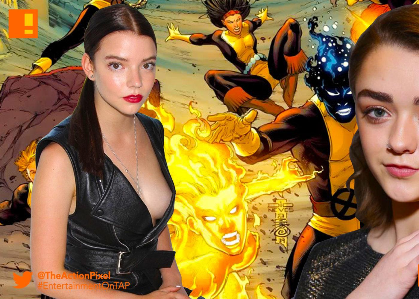 magik, x-men, xmen, new mutants, x-men: new mutants, fox, marvel, entertainment on tap, Anya Taylor-Joy, maisie williams,wolfsbane, marvel comics, entertainment on tap, the action pixel