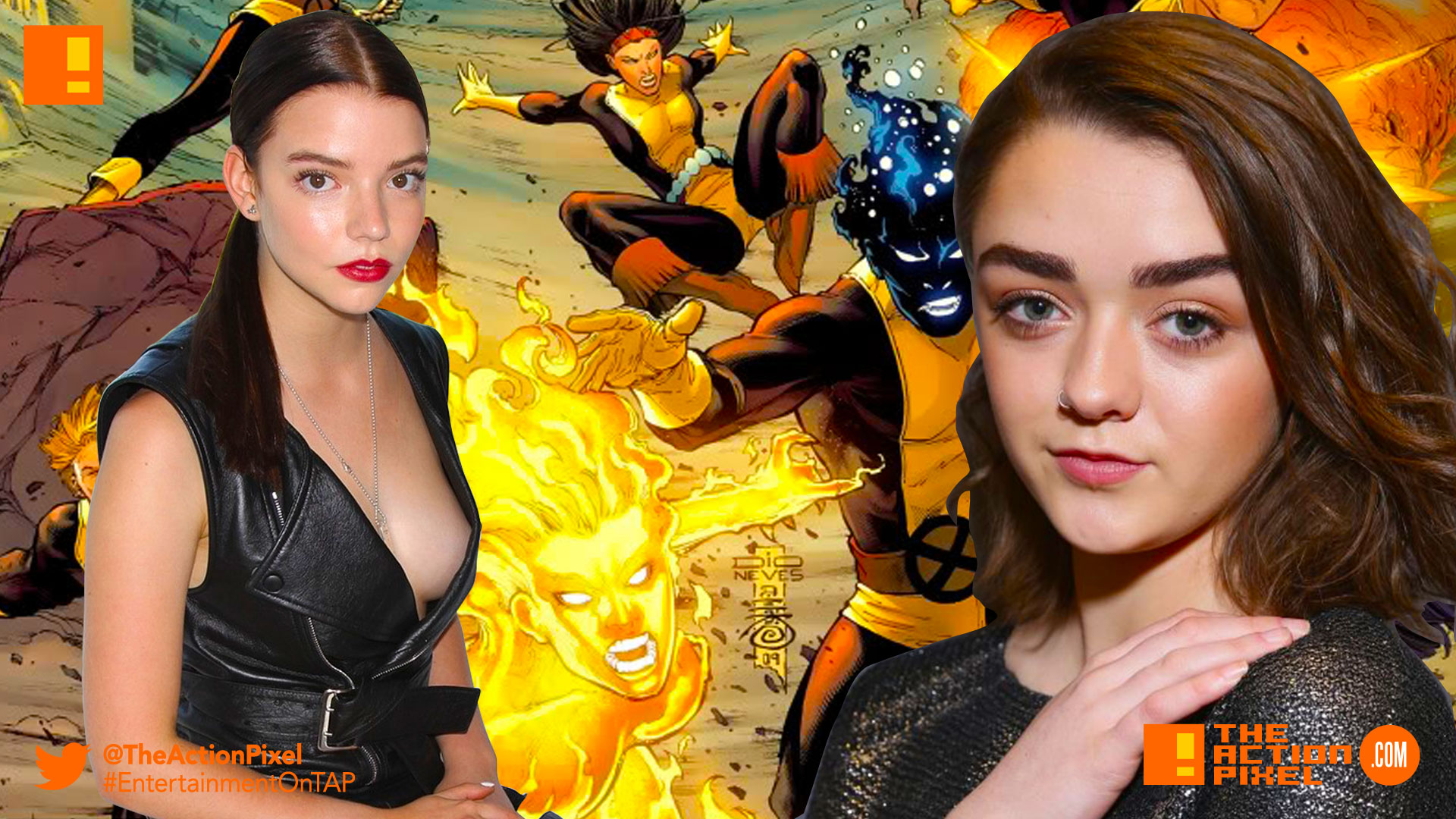 magik, x-men, xmen, new mutants, x-men: new mutants, fox, marvel, entertainment on tap, Anya Taylor-Joy, maisie williams,wolfsbane, marvel comics, entertainment on tap, the action pixel